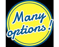 Many Options!